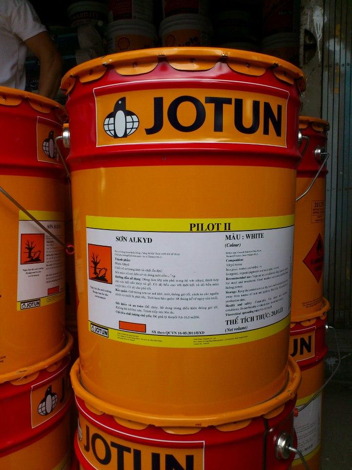 son-phu-epoxy-jotun-alkyd-pilot-ii-mau-xanh-la