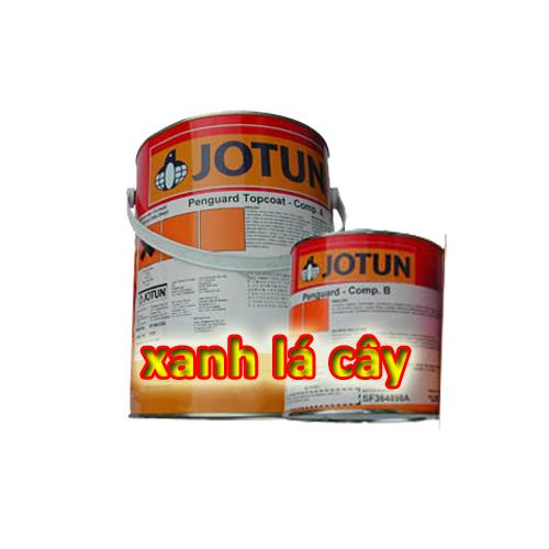 son-phu-epoxy-jotun-penguard-topcoat-mau-xanh-la